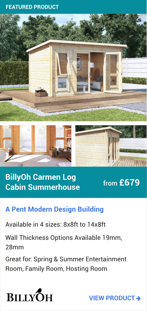 BillyOh Carmen Log Cabin Summerhouse