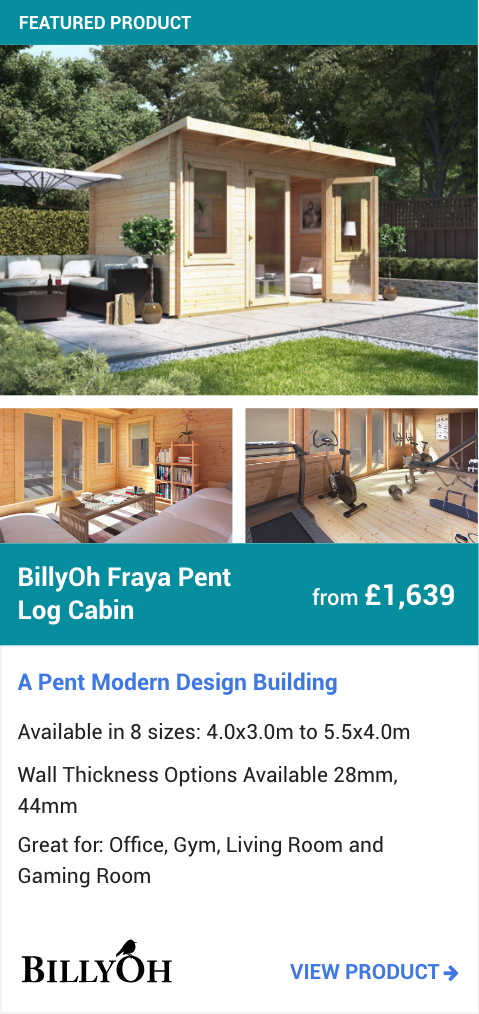 BillyOh Fraya Pent Log Cabin