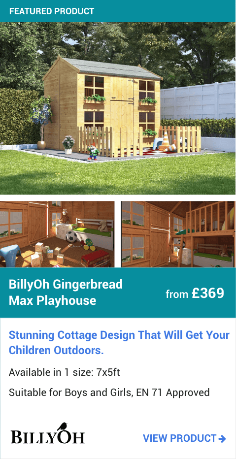 BillyOh Gingerbread Max Playhouse
