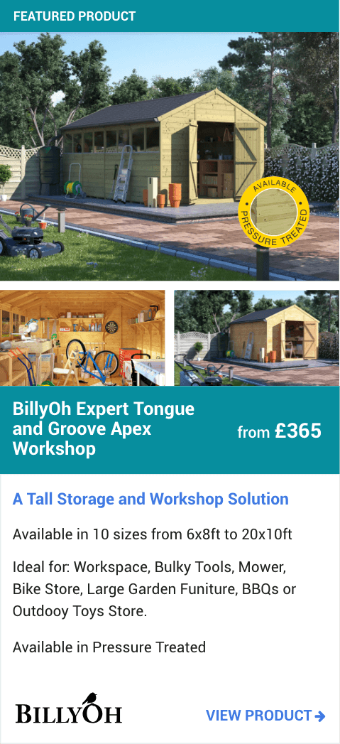 BillyOh Expert Tongue and Groove Apex Workshop