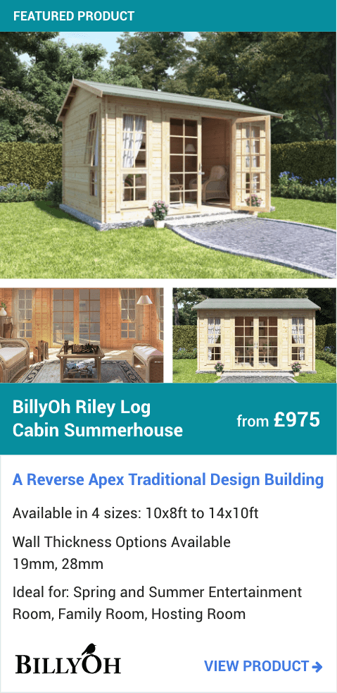 BillyOh Riley Log Cabin Summerhouse