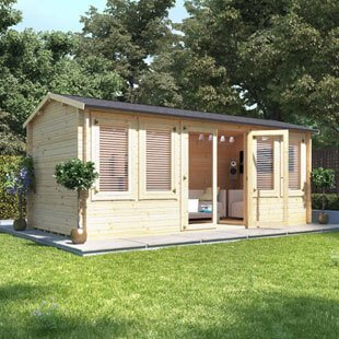 Garden Log Cabins Category