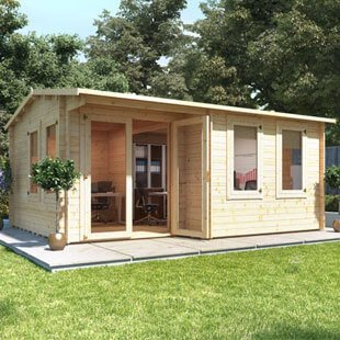 Garden Office Log Cabins Category
