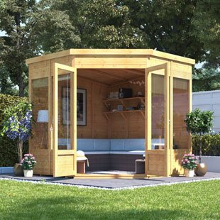 Corner Summer Houses Category