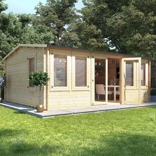 Log Cabin Summer Houses Category