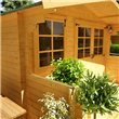 Lodge Log Cabin W3.0m x D2.5m
