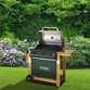 Outback Hunter 3 Burner Hooded Gas Barbecue - With Hose & Regulator