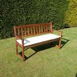 3 Seater Bench Cushion - Natural