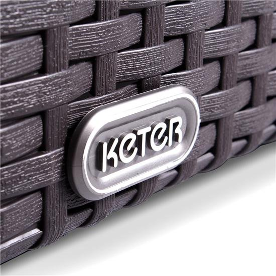 Keter Limousine Rattan Style 4 Seater Feature