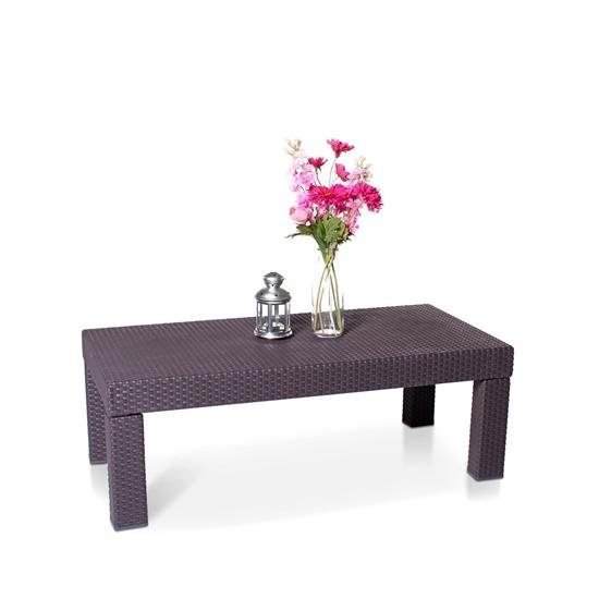 Keter Limousine Rattan Style 4 Seater Table