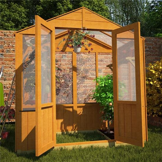 3 x 6 Greenhouse with Pressure Treated Base Option