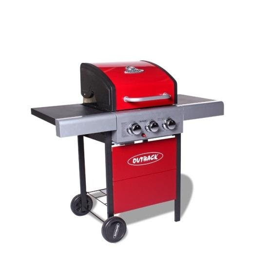 Outback Meteor 3 Gas BBQ