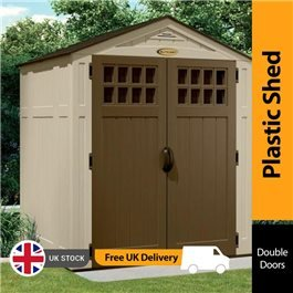 Suncast Adlington Four Plastic Storage Shed