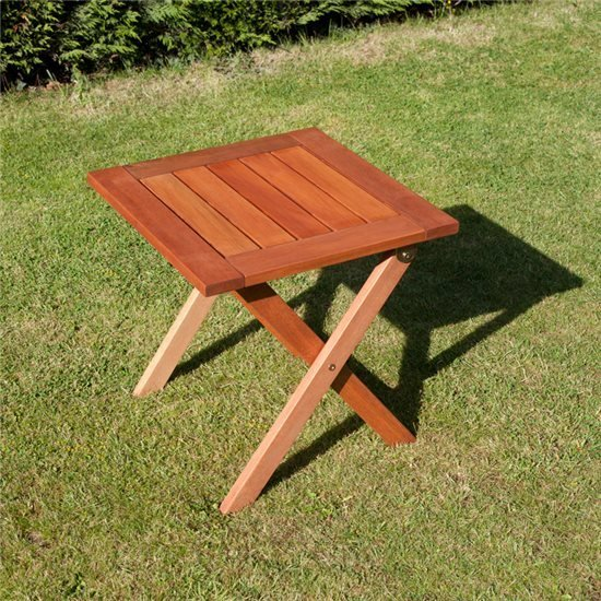 0.45m Folding Square Side Table