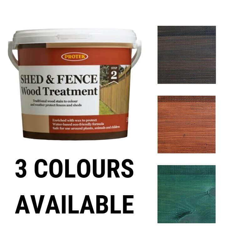 Protek Shed & Fence Treatment 5ltr