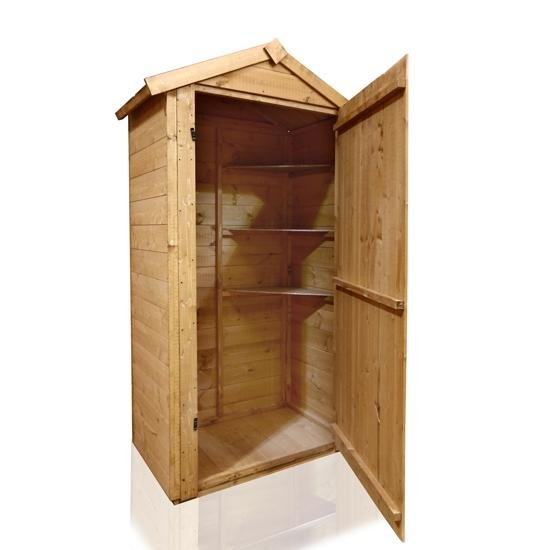 BillyOh 3x2 Grande Wooden Sentry Box with Tongue and Groove Floor
