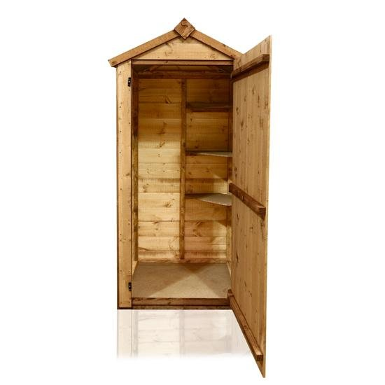 BillyOh 3x2 Petite Wooden Sentry Box with Solid Sheet Floor