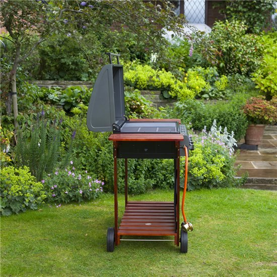 The BillyOh Acorn 4 Burner Hooded Gas BBQ