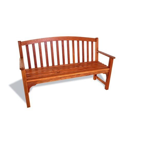 BillyOh Windsor 3 Seater High Back Wooden Garden Bench