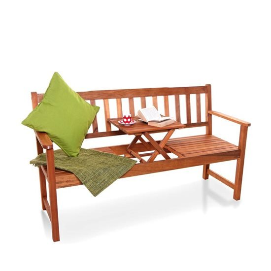 BillyOh Windsor Pop Up 3 Seater Garden Bench with Table