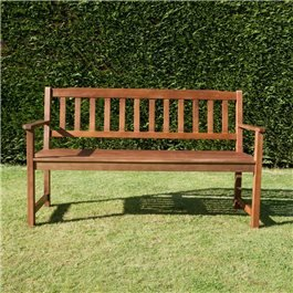 BillyOh Windsor 2 or 3 Seater Traditional Wooden Bench