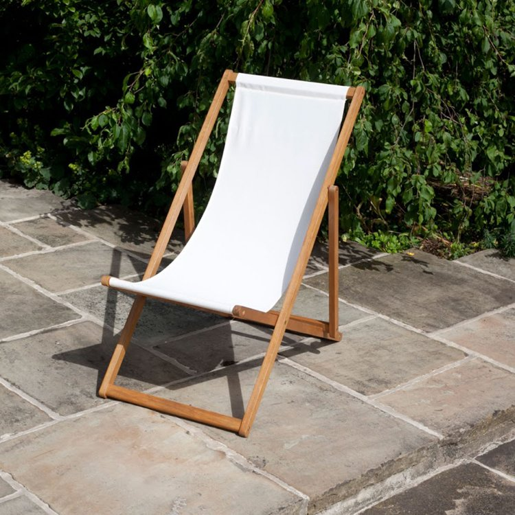 BillyOh Windsor Outdoor Wooden Folding Deck Chair