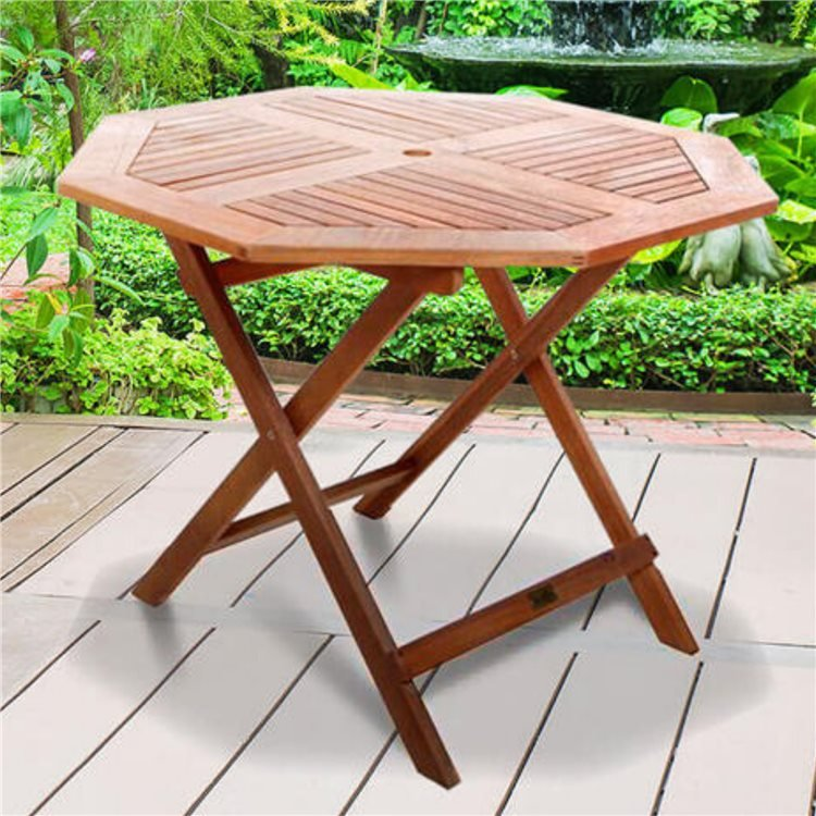 BillyOh Windsor Octagon Folding Garden Table