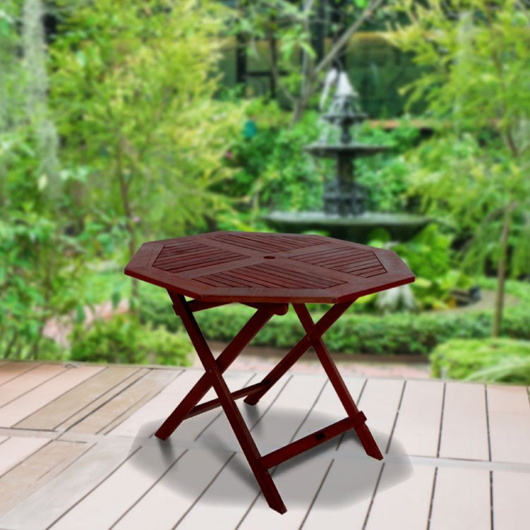 BillyOh Hampton 1.0m Octagonal  Folding Garden Table