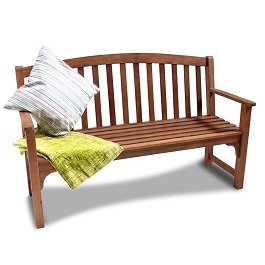 BillyOh Hampton High Back Bench - 2 or 3 Seater