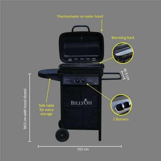 Patio Grill 2 Burner