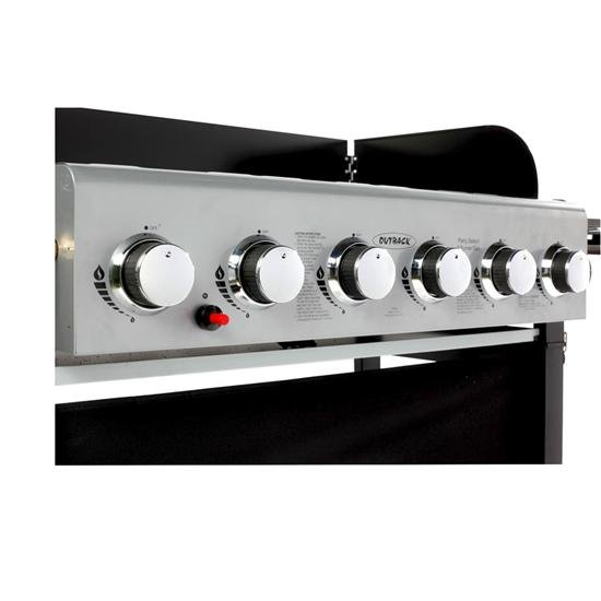 Outback Party 6 Burner Barbecue