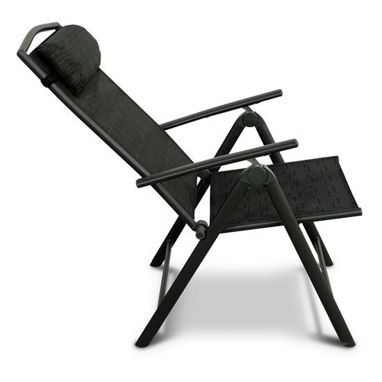 Billyoh Valencia Texteline Recliner Chair With Head Pillow