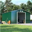 BillyOh Partner Apex Metal Shed - Low Price Double Doors Apex Metal Store Shed