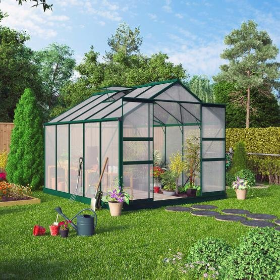 BillyOh Harvester Walk-In Aluminium Greenhouse
