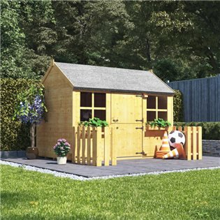 Kids Playhouses Garden Log Cabins From 169 Billyoh