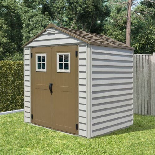 7x7 billyoh storemax plastic garden storage shed including for Garden shed 7x7