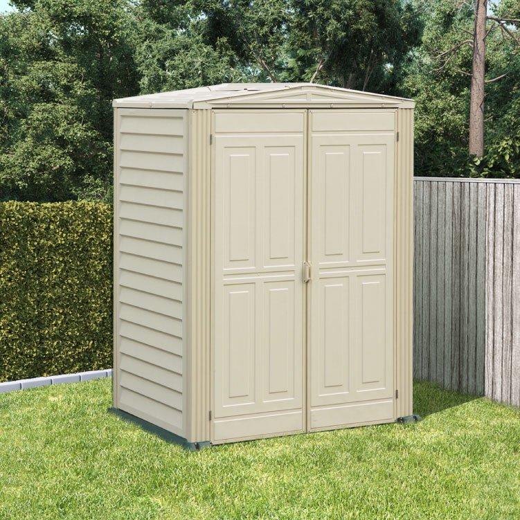 5x3 Billyoh Yardmate Garden Storage Apex Plastic Shed Inc