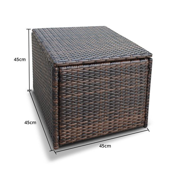 10 Seater Cube - Brown