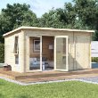 BillyOh Tianna Log Cabin Summerhouse with Side Store