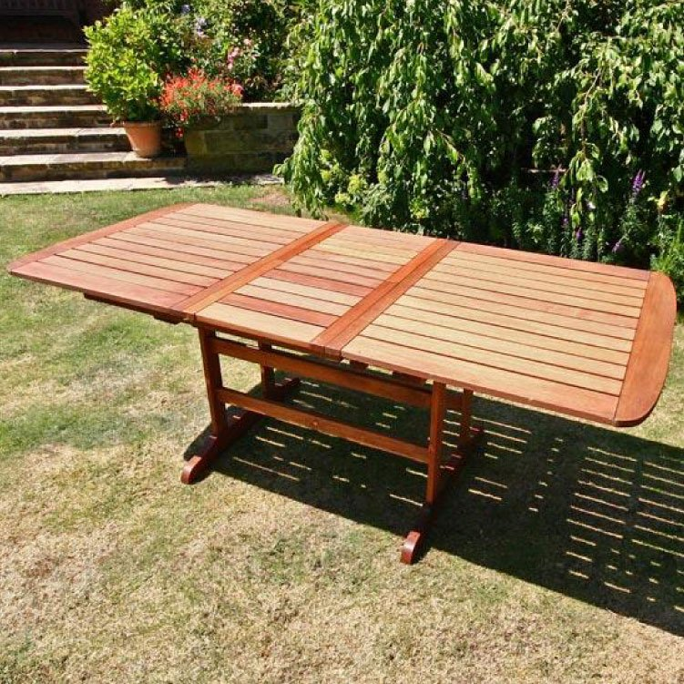 BillyOh Windsor 2m Butterfly Extending Rectangular Garden Table