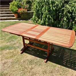 BillyOh Windsor 2m Butterfly Extending Rectangular Outdoor Garden Table