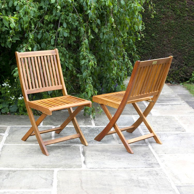 BillyOh Windsor Folding Chairs - 2/4/6/8/10 Wooden Folding Chairs