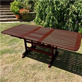 BillyOh Hampton 1.5m - 2m Extending Butterfly Wooden Garden Table