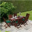 BillyOh Hampton 1.6m Extending Rectangular Dining Set Folding Chairs