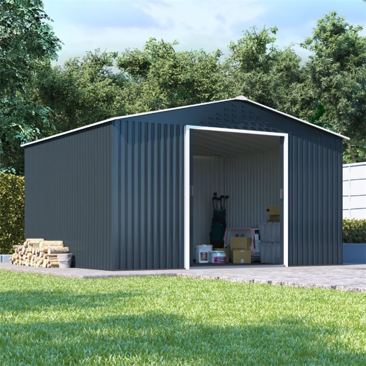 BillyOh Partner Top Shed Apex Roof Metal Shed
