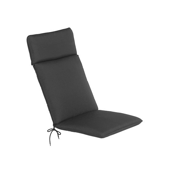 The CC Collection - Garden Cushions - Recliner Cushion - Black
