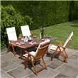 BillyOh Windsor 2m Butterfly Extending Rectangular Dining Set Reclining Chairs