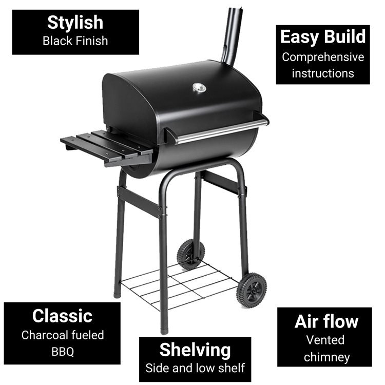 BillyOh Charcoal Barrel Barbecue