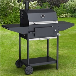 BillyOh Kentucky Smoker BBQ - Charcoal American Grill Outdoor Barbecue With Chimney