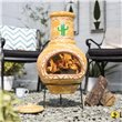 BillyOh Cardon Medium  Clay Chimenea